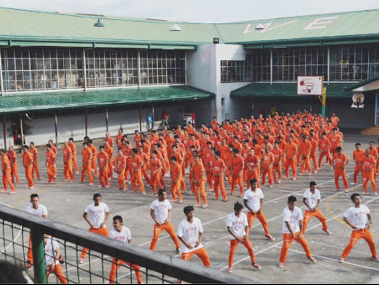 Filipino jail inmates