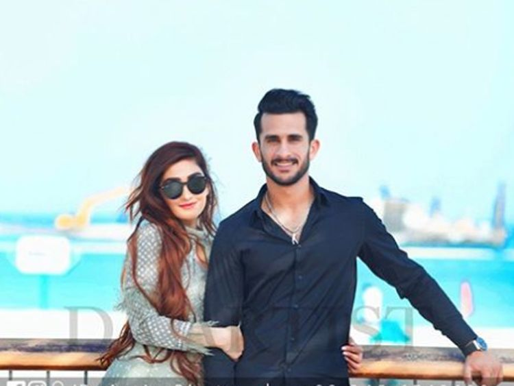 Hassan Ali wedding in Dubai