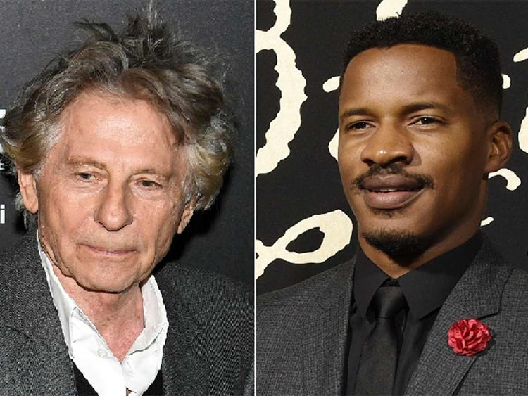 Roman Polanski, left, and Nate Parker