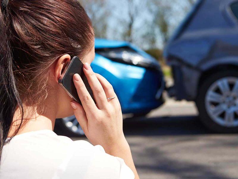 Dubai Police app: Yesterday I got into an accident