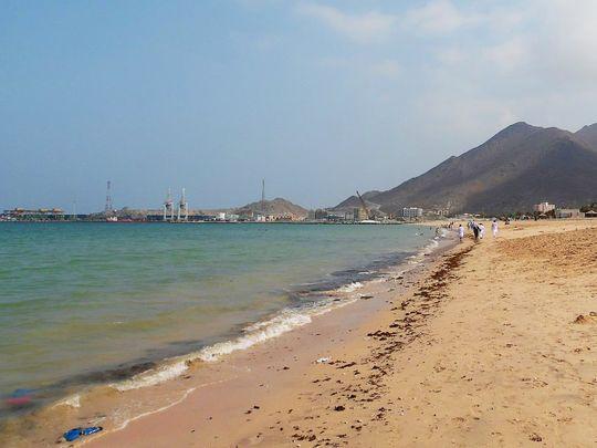 Fujairah Khor Fakkan beach