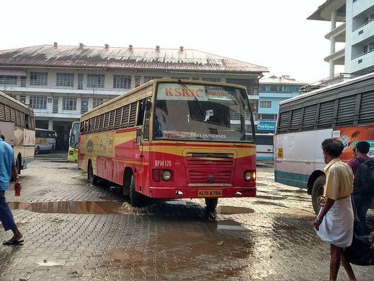 KSRTC bus Kerala