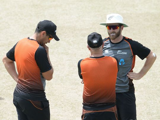 Kane Williamson (R) and Ross Taylor