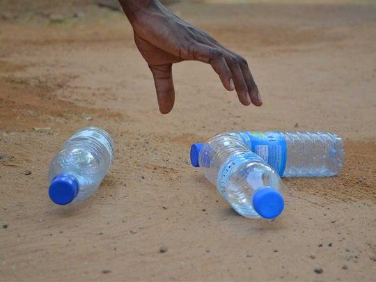 190822 plastic bottles