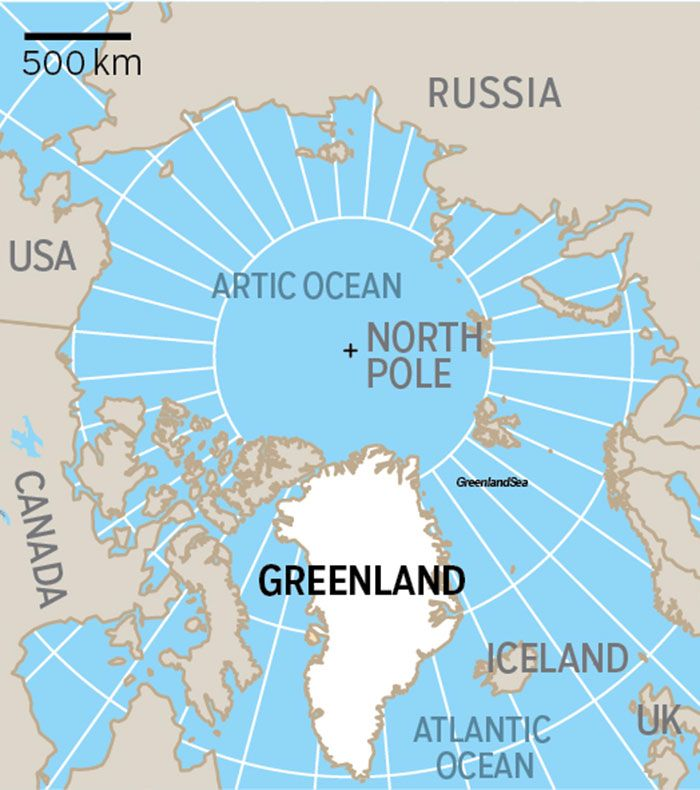 Map Of Canada Greenland And Iceland.Why Us President Donald Trump Wants To Buy Greenland Americas
