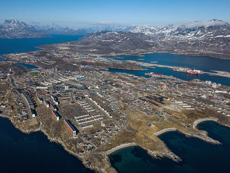 Nuuk, Greenland's capital