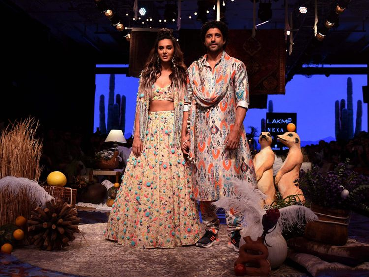 Lakme Fashion Week 2019 Payal Singhal Amit Aggarwal Go For Boho Chic Fashion Gulf News