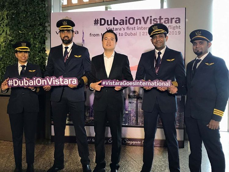Vistara Mumbai Dubai