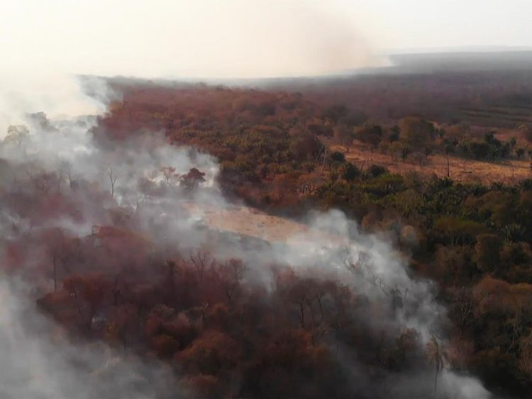 Amazon forest fires 20190823
