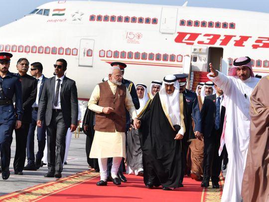 Modi in Bahrain