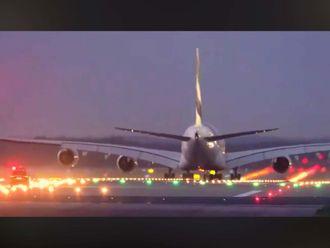 Emirates take off