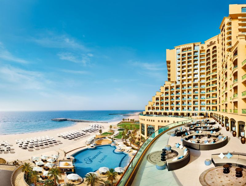 EWD Fairmont Ajman - hotel exterior-1566826099820