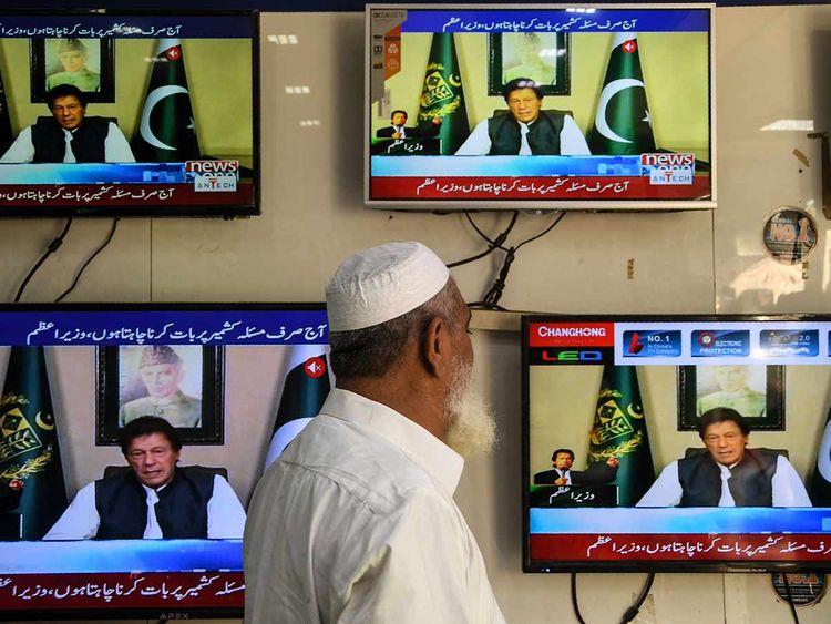 Imran khan speech 20190826
