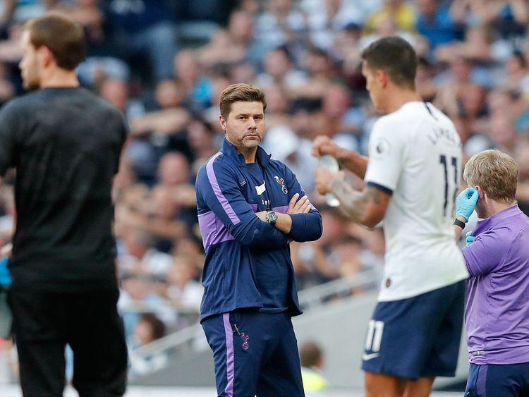 Tottenham's manager Mauricio Pochettino