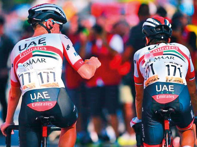 UAE Team Emirates get back in the running in Vuelta