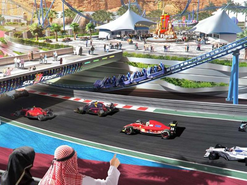 Saudi Arabia Theme Park