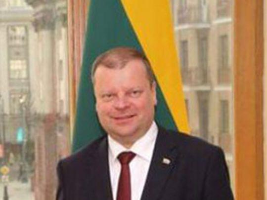 Lithuania's Prime Minister, Saulius Skvernelis