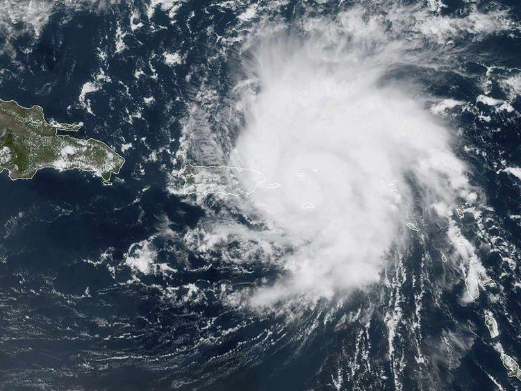 Hurricane Dorian 20190828