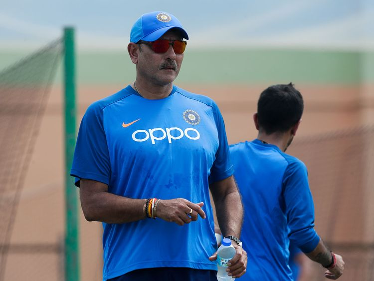 India cricket coach Ravi Shastri