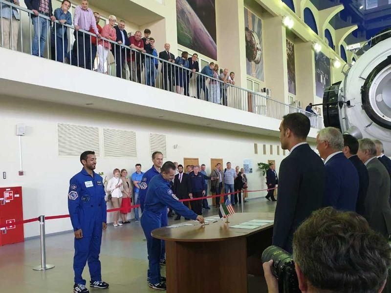 Reserve crew Emirati astronaut Sulan Al Neyadi