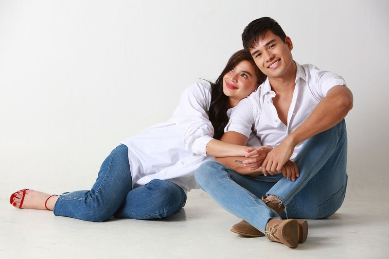 Anne Curtis and Marco Gumabao star in 'Just a Stranger'.