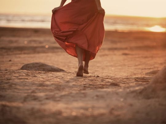 Off the cuff: The beauty of walking barefoot