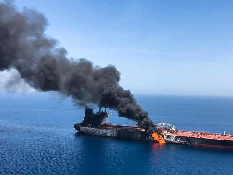 OPN Hormuz tanker attack-1567334632324