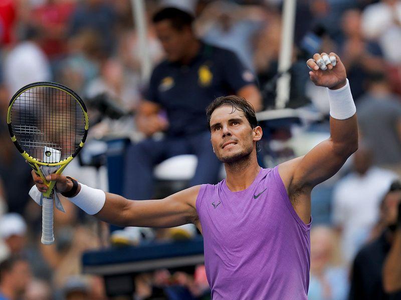 Rafael Nadal, of Spain