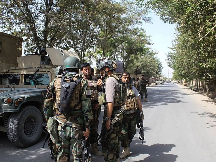 Taliban assault on Kunduz