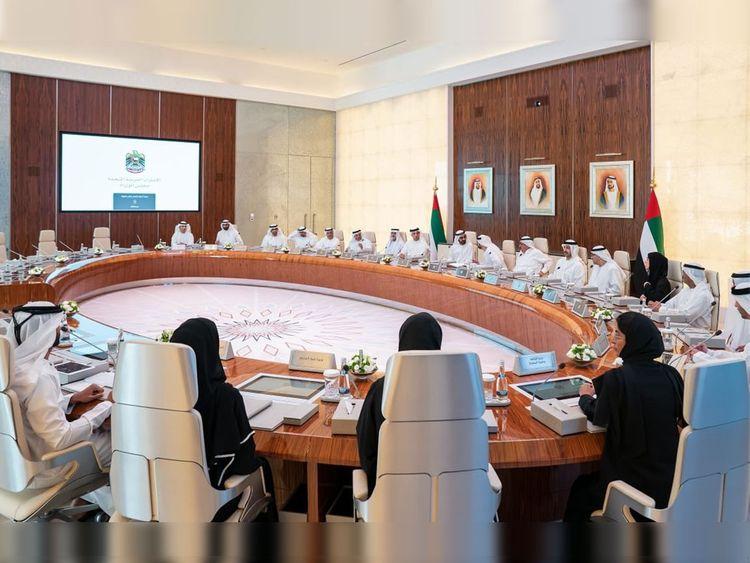 UAE cabinet meeting Sunday