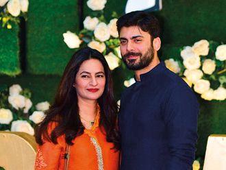 Inside Pakistani celebrities Hamza Ali Abbasi and Naimal