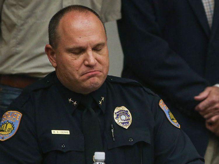 Odessa Police Chief Michael Gerke