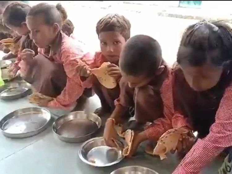 Indian journalist who filmed kids eating salt-roti booked