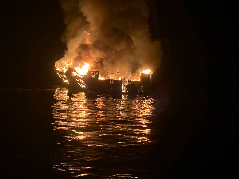 190903 Diving boat fire
