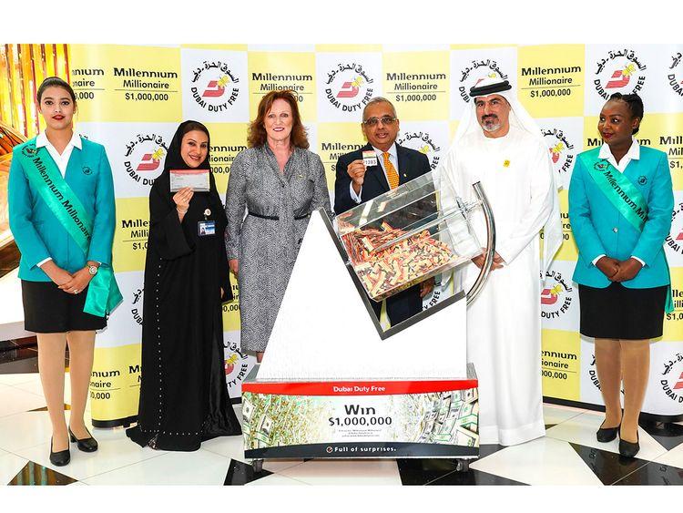 Million dollar winner in Dubai still unaware of the win