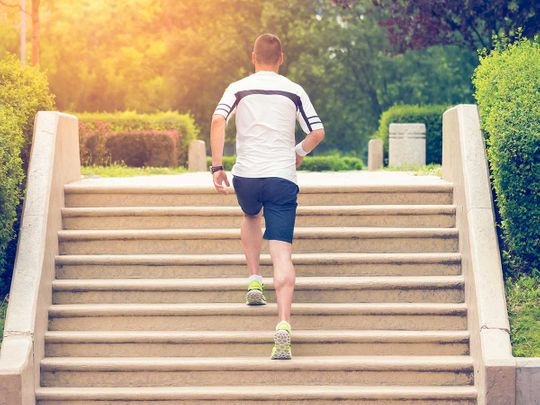Fit India: Climbing stairs to good health