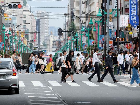 Shin-Okubo district Tokyo