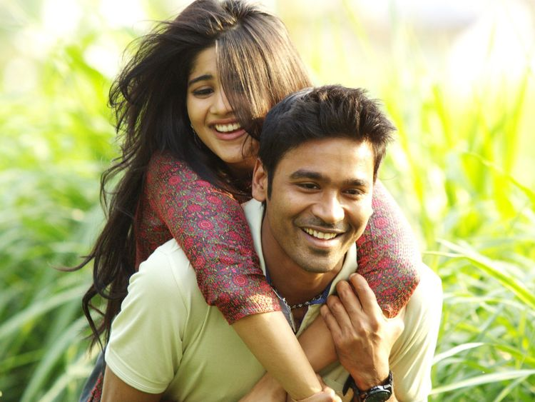 Megha Akash and Dhanush in ENPT-1567576721603