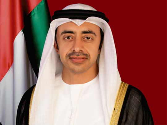 Sheikh Abdullah Bin Zayed Bin Sultan Al Nahyan 20190904