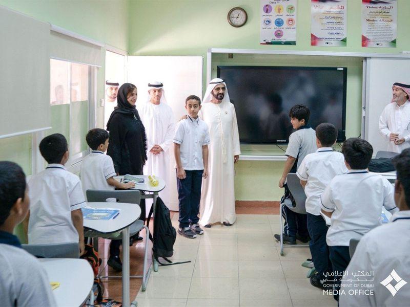 Sheikh Mohammed Bin Rashid visits Khalifa Al Kaabi -121