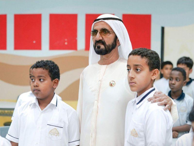 Sheikh Mohammed Bin Rashid visits Khalifa Al Kaabi 01211