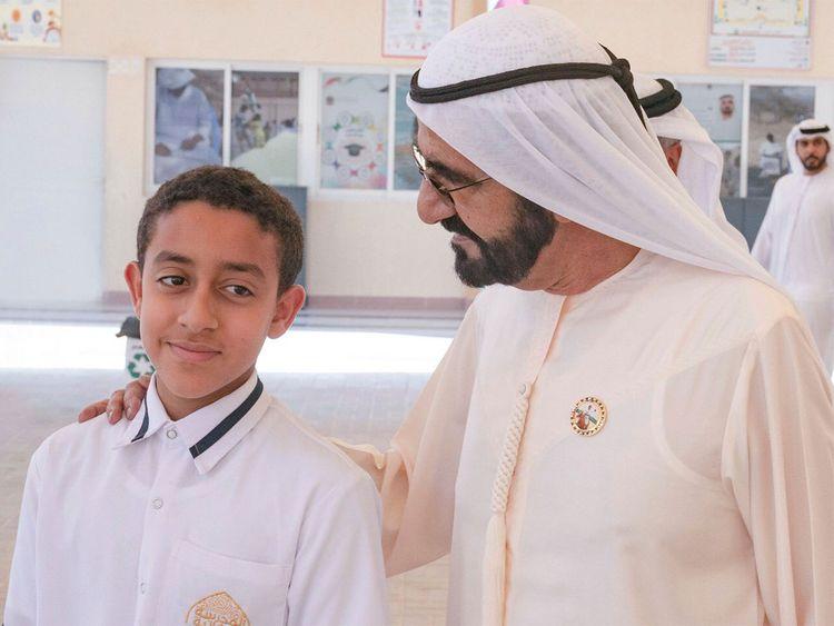 Sheikh Mohammed Bin Rashid with Khalifa Al Kaabi - 154