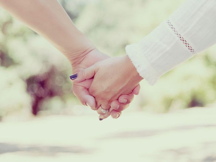 holding hands generic