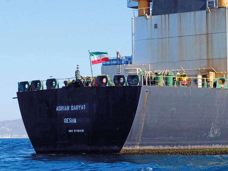 US imposes sanctions on Iran shipping network to choke off