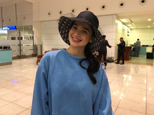 Filipino star Anne Curtis lands in UAE