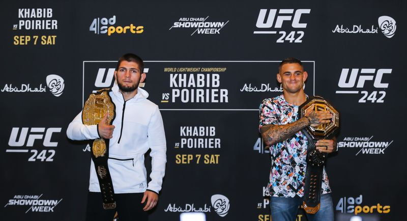 Ufc 242 Two Champions Go Head To Head With Everything To