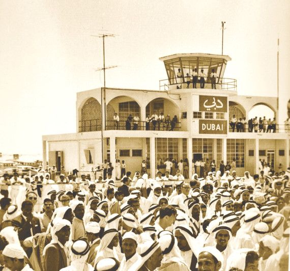 NAT 190904 Dubai Airport in the 1960- PIC2-1567760340716