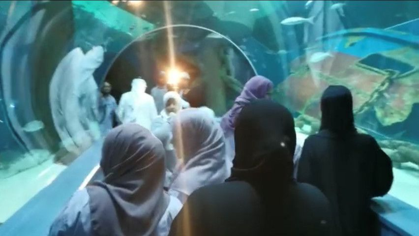 NAT 190906 Inmates from the Sharjah Punitive and Rehabilitation Centre got an opportunity to tour Sharjah Aquarium1-1567774361203