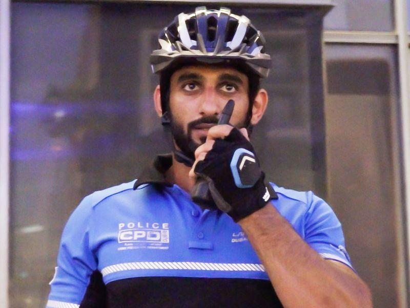 Corporal Jassim Al Razi from Bur Dubai Police Station