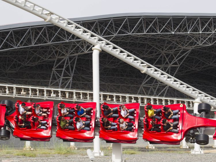 Ferrari World Abu Dhabi - Formula Rossa-1567835218318